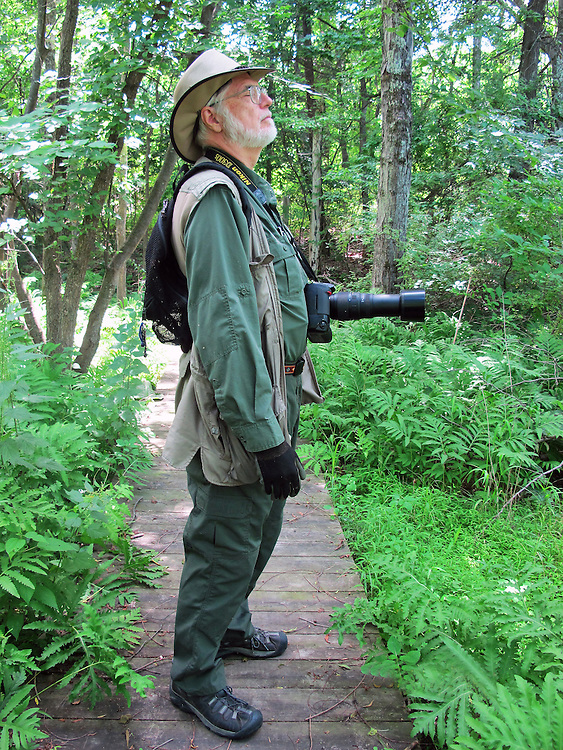 Jim Peppler, visiting the Esopus Bend Nature Preserve in Saugerties, NY, on Monday, July 11, 2016. Photo by Ginny Christensen. Copyright Ginny Christensen 2016.