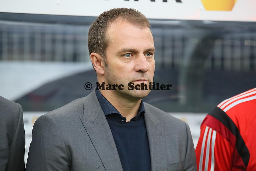 Co-Trainer Hansi Flick (D) - Deutschland vs. Polen, WM-Vorbereitung Testspiel, Imtech Arena Hamburg