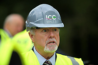 2017 06 23 First Minister Carwyn Jones at the site of the ICC, Celtic Manor, Newport, UK