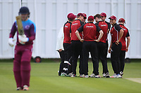 NMCC celebrate a wicket during North Middlesex CC vs Hampstead CC, Middlesex County League Cricket at Park Road on 25th May 2019