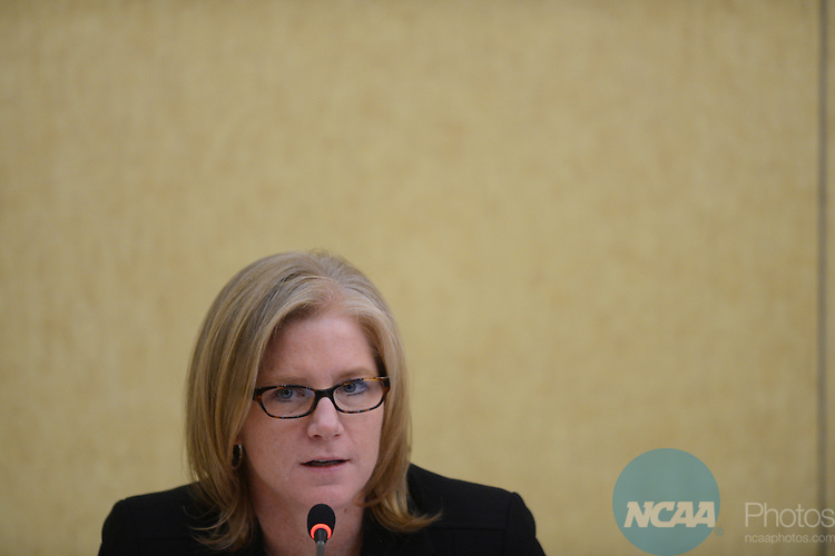 17 JAN 2013: The Division II President's Council at the 2013 NCAA Convention held at the Gaylord Texan in Grapevine, TX. Stephen Nowland/NCAA Photos.Pictured: Noreen Morris