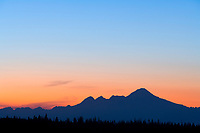 Mount illiamna volcano, Aleutian mountain range, along the Alaska Peninsula, southcentral, Alaska.