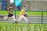Austin Stacks in action against  Feale Rangers in the County Championship in Listowel on Sunday