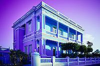 Palacio Azul (Blue Palace) in Cienfuegos, Cuba