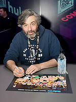 FOX FAN FAIR AT SAN DIEGO COMIC-CON© 2019: FAMILY GUY Executive Producer Alec Sulkin during the FAMILY GUY booth signing on Saturday, July 20 at the FOX FAN FAIR AT SAN DIEGO COMIC-CON© 2019. CR: Alan Hess/FOX © 2019 FOX MEDIA LLC