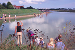 AMHJD4 Crabbing Walberswick Suffolk England