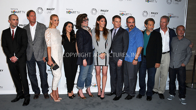 WWW.ACEPIXS.COM<br /> <br /> September 12 2013, LA<br /> <br /> Cast members at PaleyFest Previews: 'Dexter' at The Paley Center for Media on September 12, 2013 in Beverly Hills, California.<br /> <br /> By Line: Peter West/ACE Pictures<br /> <br /> <br /> ACE Pictures, Inc.<br /> tel: 646 769 0430<br /> Email: info@acepixs.com<br /> www.acepixs.com