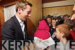 Ryan Tubridy presented his Radio One morning show in front of a large crowd of locals at the Ballybunion Golf hotel on Wednesday.