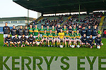 The Kerry Under 21 who took on Waterford under 21 football All Ireland Semi Final championship at Austin Stack Park, Tralee on Wednesday evening. Front l-r: Dominic OSullivan, John Moynihan, David Culhane, Niall OShea, Pa Kilkenny, Ian Galvin, Matthew Galvin, Stephen OBrien, Paul OSullivan, Conor Cox, Chris Brady (capt), Paul Murphy, Mark Reen, Eanna OConnor and Jason Hickson. Back l-r: Padraig Lucey, Padraig OConnor, Sean McCarthy, Chris Davies, Kieran Hurley, Shane OCarroll, James Walsh, Fergal McNamara, Mark Griffin, Jack Sheerwood, Tadgh Morley, Darragh OSullivan, Michael Brennan,Gavin OGrady,Donal OSullivan and Philip Galvin...