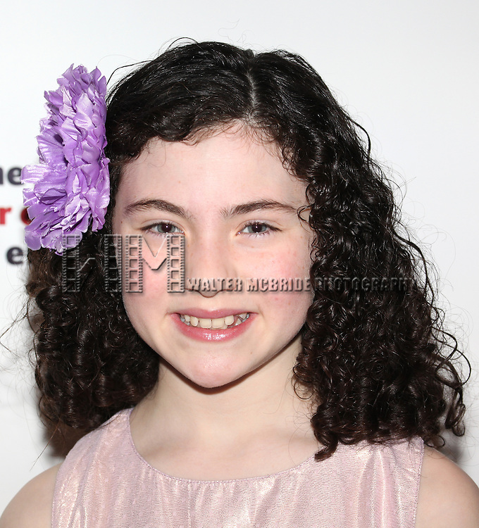 Lilla Crawford  attending the 2013 Actors Fund Annual Gala at the Mariott Marquis Hotel in New York on 4/29/2013...