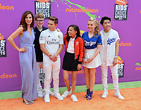 Cast of School of Rock at Nickelodeon's Kids' Choice Sports 2017 at UCLA's Pauley Pavilion. Los Angeles, USA 13 July  2017<br /> Picture: Paul Smith/Featureflash/SilverHub 0208 004 5359 sales@silverhubmedia.com