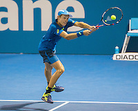 ALEX DE MINAUR (AUS)<br /> BRISBANE INTERNATIONAL, PAT RAFTER ARENA, BRISBANE TENNIS CENTRE, BRISBANE, QUEENSLAND, AUSTRALIA, <br /> &copy; TENNIS PHOTO NETWORK