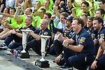 Adrian Newey (GBR), Red Bull Racing (ex. McLaren), Technical Operations Director - Daniel Ricciardo (AUS)  Red Bull Racing - Christian Horner (GBR), Red Bull Racing, Sporting Director<br />  Foto © nph / Mathis