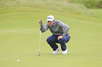 Bernd Wiesberger (AUT) on the 16th green during Saturday's Round 3 of the Dubai Duty Free Irish Open 2019, held at Lahinch Golf Club, Lahinch, Ireland. 6th July 2019.<br /> Picture: Eoin Clarke | Golffile<br /> <br /> <br /> All photos usage must carry mandatory copyright credit (© Golffile | Eoin Clarke)