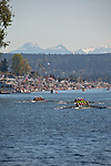 Rowing, Windermere Cup, Opening Day Regatta, Seattle, Washington, May 4, 2013 Lake Washington Ship Canal, Montlake Cut,