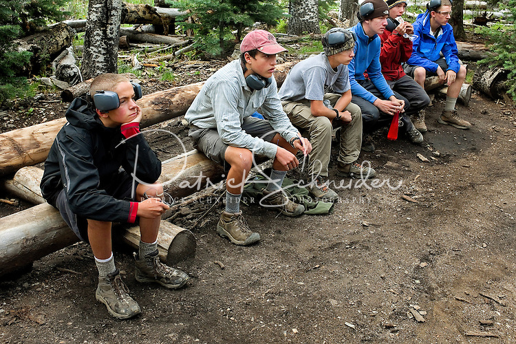 Photo story of Philmont Scout Ranch in Cimarron, New Mexico, taken during a Boy Scout Troop backpack trip in the summer of 2013. Photo is part of a comprehensive picture package which shows in-depth photography of a BSA Ventures crew on a trek.   <br /> <br /> The Photo by travel photograph: PatrickschneiderPhoto.com