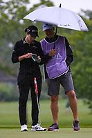 Carlota Ciganda (ESP) looks over her putt on 2 during the round 1 of the KPMG Women's PGA Championship, Hazeltine National, Chaska, Minnesota, USA. 6/20/2019.<br /> Picture: Golffile | Ken Murray<br /> <br /> <br /> All photo usage must carry mandatory copyright credit (© Golffile | Ken Murray)