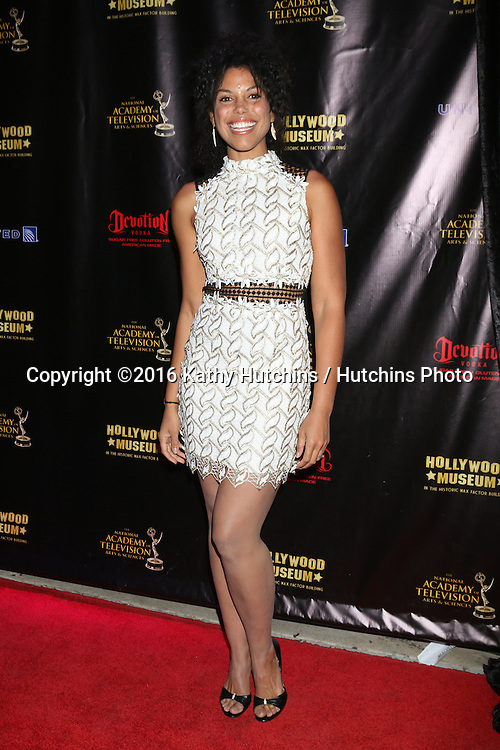 LOS ANGELES - APR 27:  Karla Mosley at the 2016 Daytime EMMY Awards Nominees Reception at the Hollywood Museum on April 27, 2016 in Los Angeles, CA