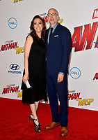Peyton Reed &amp; Sheila Reed at the premiere for &quot;Ant-Man and the Wasp&quot; at the El Capitan Theatre, Los Angeles, USA 25 June 2018<br /> Picture: Paul Smith/Featureflash/SilverHub 0208 004 5359 sales@silverhubmedia.com