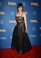 HOLLYWOOD, CA - FEBRUARY 02: Linda Cardellini attends the 71st Annual Directors Guild Of America Awards at The Ray Dolby Ballroom at Hollywood & Highland Center on February 02, 2019 in Hollywood, California.<br /> CAP/ROT/TM<br /> ©TM/ROT/Capital Pictures