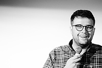 14th July 2019: Comedian Chris Washington performs his show 'Raconteur' on day 2 of the 2019 Comedy Crate Festival, Northampton.