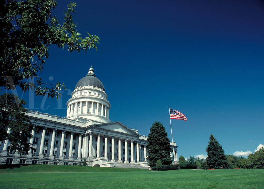 Utah State Capitol Building, government offices, architecture,. Salt Lake City Utah.