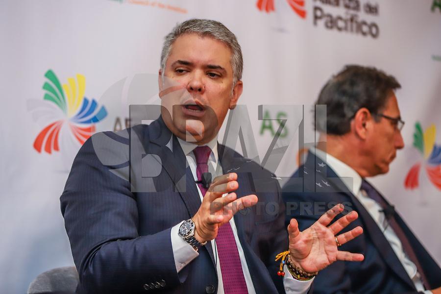 NOVA YORK, EUA, 25.09.2019 - POLITICA-EUA - Iván Duque Márquez, Presidente da Colombia durante encontro do Conselho das Americas na cidade de Nova York nesta quarta-feira, 25. (Foto: Vanessa Carvalho/Brazil Photo Press)