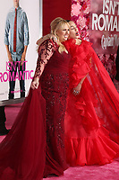 """LOS ANGELES - FEB 11:  Rebel Wilson, Miley Cyrus at the """"Isn't It Romantic"""" World Premiere at the Theatre at Ace Hotel on February 11, 2019 in Los Angeles, CA"""