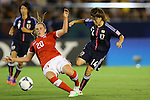 (L to R) Noelle Maritz (SUI), Hanae Shibata (JPN), .AUGUST 26, 2012 - Football / Soccer : .FIFA U-20 Women's World Cup Japan 2012, Group A .match between Japan 4-0 Switzerland .at National Stadium, Tokyo, Japan. .(Photo by Daiju Kitamura/AFLO SPORT) [1045]