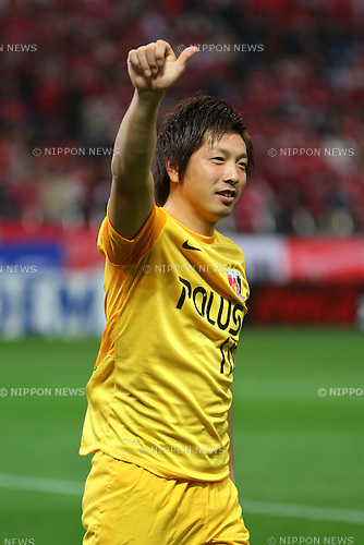 Nobuhiro Kato (Reds), .March 9, 2013 - Football / Soccer : .2013 J.LEAGUE Division 1, 2nd Sec .match between Urawa Reds 1-0 Nagoya Grampus .at Saitama Stadium 2002, Saitamai, Japan. .(Photo by Daiju Kitamura/AFLO SPORT) [1045]