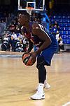 Turkish Airlines Euroleague 2017/2018.<br /> Regular Season - Round 8.<br /> FC Barcelona Lassa vs Valencia Basket: 89-71.<br /> Rakim Sanders.
