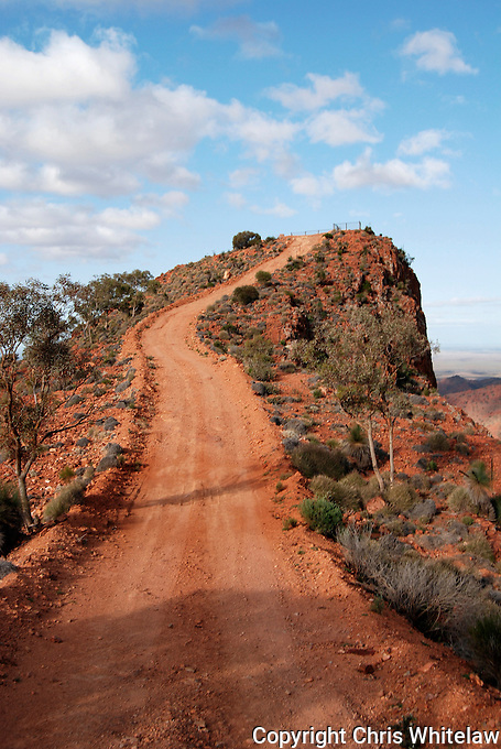 The track to Sillers Lookout