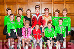 North Kerry Feis: Members of the Johnny Cronin school of dancing from Moyvane & Tarbert who took part in the North Kerry feis at the Listowel Arms Hotel on Sunday last. Front :Aoife Curra, Ciara Carmody, Ava Walsh, Rachel Foley, Ava Horan & Aoilennn O'Connor. Back : Rebecca Curran, Chloe O'Carroll, Katelyn Foley, Emily Quirke, Amie Coulson, Nianh O'Carroll & Amy Carmody.