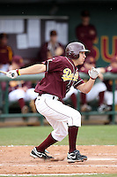 Johnny Ruettiger, Arizona State Sun Devils vs. Northern Illinois at Packard Stadium, Tempe, AZ - 02/20/2010..Photo by:  Bill Mitchell/Four Seam Images.