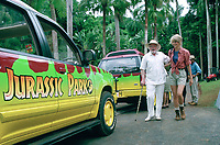 Jurassic Park (1993)<br /> Laura Dern &amp; Richard Attenborough<br /> *Filmstill - Editorial Use Only*<br /> CAP/KFS<br /> Image supplied by Capital Pictures