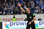 01.12.2018, wirsol Rhein-Neckar-Arena, Sinsheim, GER, 1 FBL, TSG 1899 Hoffenheim vs FC Schalke 04, <br /> <br /> DFL REGULATIONS PROHIBIT ANY USE OF PHOTOGRAPHS AS IMAGE SEQUENCES AND/OR QUASI-VIDEO.<br /> <br /> im Bild: Schiedsrichter Dr. Robert Kampka<br /> <br /> Foto &copy; nordphoto / Fabisch