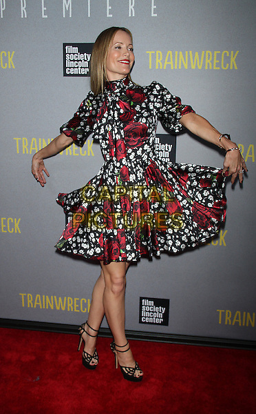 July 14, 2015:  Leslie Mann  at  Universal Pictures &amp; The Film Society of Lincoln Center present the World Premiere of Trainwreck  at Alice Tully Hall Lincoln Center in New York.<br /> CAP/MPI/RW<br /> &copy;RW/MPI/Capital Pictures