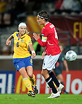 Sara Thunebro, QF, Sweden-Norway, Women's EURO 2009 in Finland, 09042009, Helsinki Football Stadium.