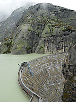 DAMSCAPES, Switzerland, Grimsel, Grimselpass, Dam