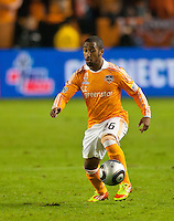 CARSON, CA - November 20, 2011: Houston Dynamo midfielder Corey Ashe (26) during the MLS Cup match between LA Galaxy and Houston Dynamo at the Home Depot Center in Carson, California. Final score LA Galaxy 1, Houston Dynamo 0.