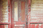 Greenville Junction old train station. Old masters door