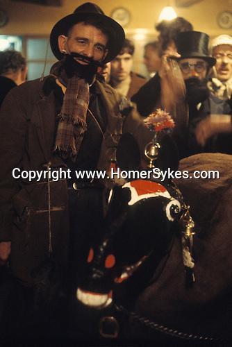 Antrobus Soul Caking Play. Antrobus Cheshire UK.1971