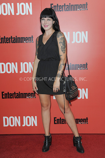 WWW.ACEPIXS.COM<br /> September 12, 2013...New York City<br /> <br /> Alexis Krauss attending 'Don Jon' New York Premiere at SVA Theater on September 12, 2013 in New York City.<br /> <br /> Please byline: Kristin Callahan/Ace Pictures<br /> <br /> Ace Pictures, Inc: ..tel: (212) 243 8787 or (646) 769 0430..e-mail: info@acepixs.com..web: http://www.acepixs.com