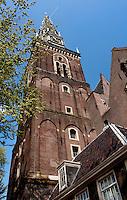 The 14th Century Oude Kerk, Amsterdam's oldest parish church (Holland, 17/04/2011)