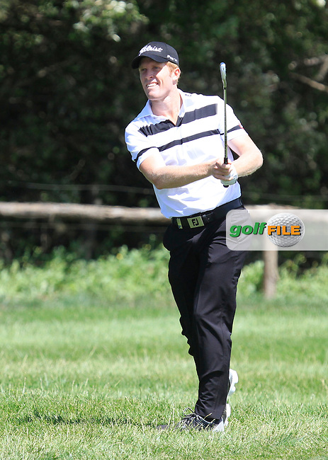 Andrew Dodt (AUS) on the 9th fairway during Round 2 of the Open de Espana  in Club de Golf el Prat, Barcelona on Friday 15th May 2015.<br /> Picture:  Thos Caffrey / www.golffile.ie