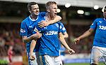 08.05.2018 Aberdeen v Rangers: Ross McCrorie celebrates his goal