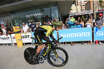 Alexander Edmondson (AUS) Mitchelton-Scott during Stage 1 of the La Vuelta 2018, an individual time trial of 8km running around Malaga city centre, Spain. 25th August 2018.<br /> Picture: Ann Clarke | Cyclefile<br /> <br /> <br /> All photos usage must carry mandatory copyright credit (© Cyclefile | Ann Clarke)