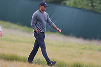 Tiger Woods (USA) walks the 5th hole during the second round of the 118th U.S. Open Championship at Shinnecock Hills Golf Club in Southampton, NY, USA. 15th June 2018.<br /> Picture: Golffile | Brian Spurlock<br /> <br /> <br /> All photo usage must carry mandatory copyright credit (&copy; Golffile | Brian Spurlock)