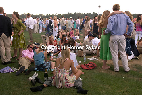 Cartier International Polo at the Guards Club, Smiths Lawn, Windsor Great park, Egham, Surrey, England 2006.