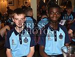 Matthew Kealy and Gideon Kabi. Photo:Colin Bell/pressphotos.ie